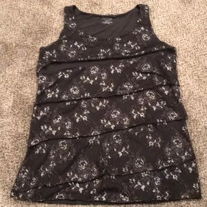 Gorgeous floral sleeveless top